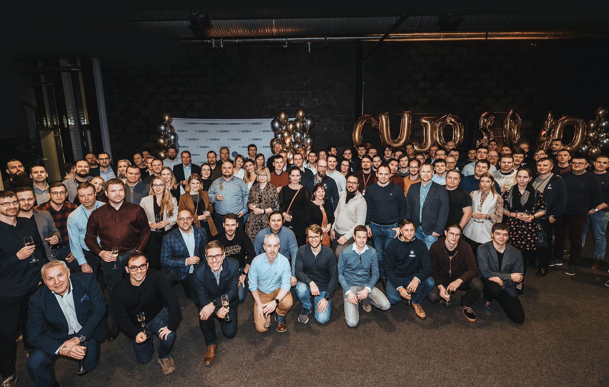 CUJO AI team in early 2020