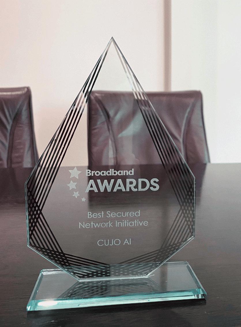 Broadband Awards 2020 Best Secured Network Initiative - CUJO AI