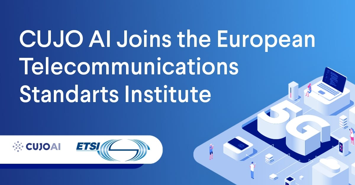 CUJO AI joined the European Telecommunications Standarts Institute in 2020