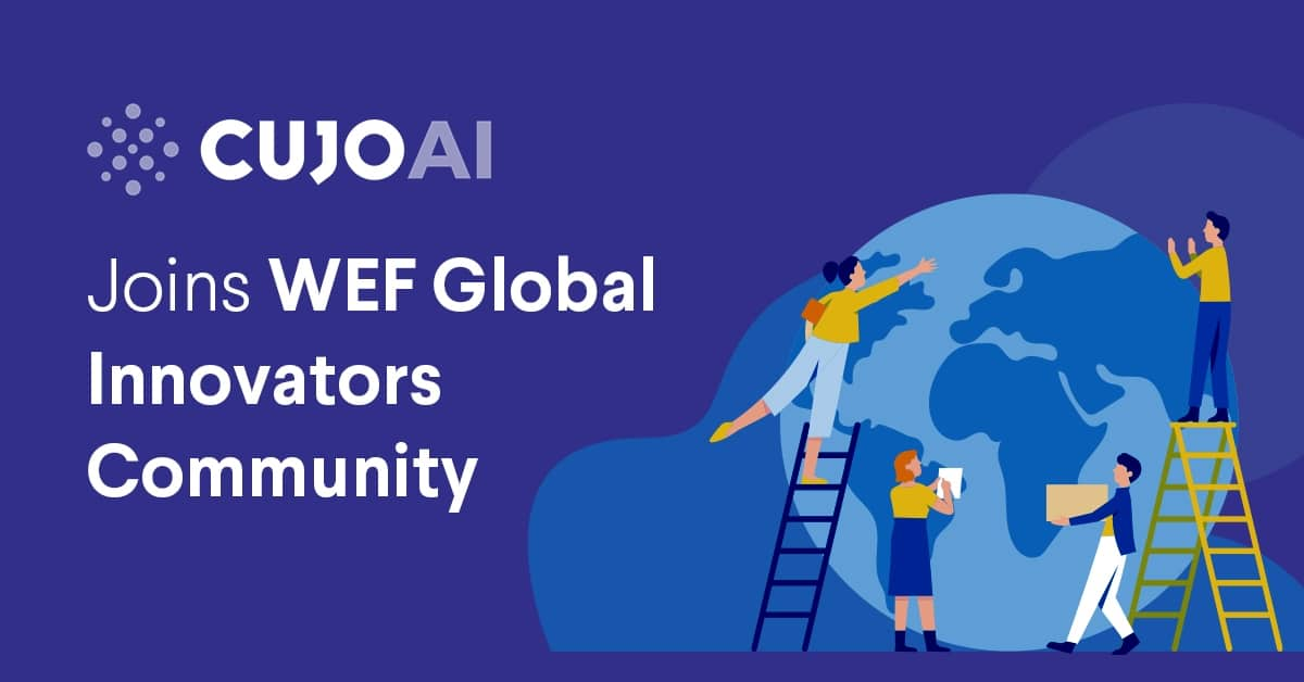 CUJO AI joined the WEF global innovators community in 2020