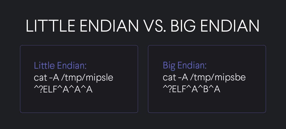 Little Endian vs Big Endian